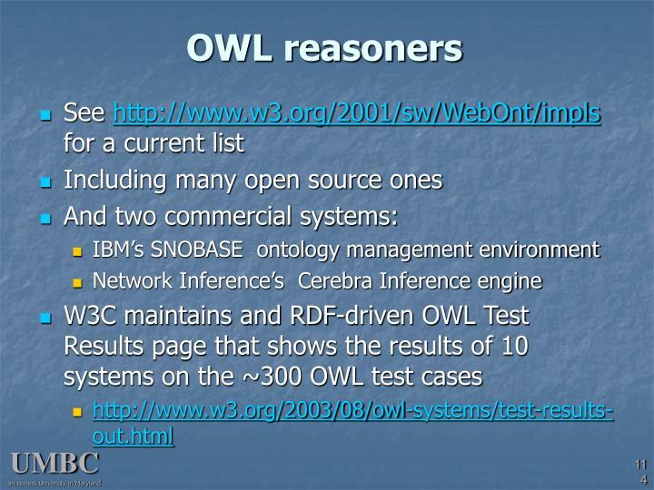 OWL reasoners