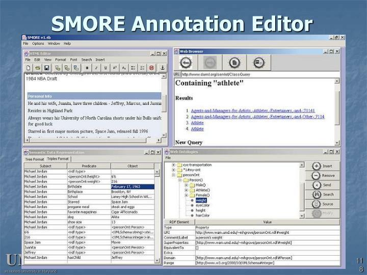 SMORE Annotation Editor