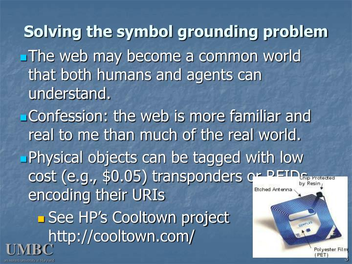 Solving the symbol grounding problem