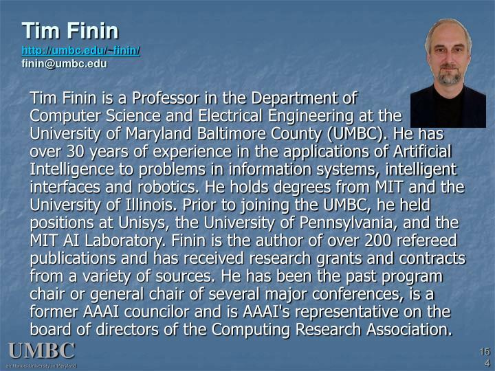 Tim Finin