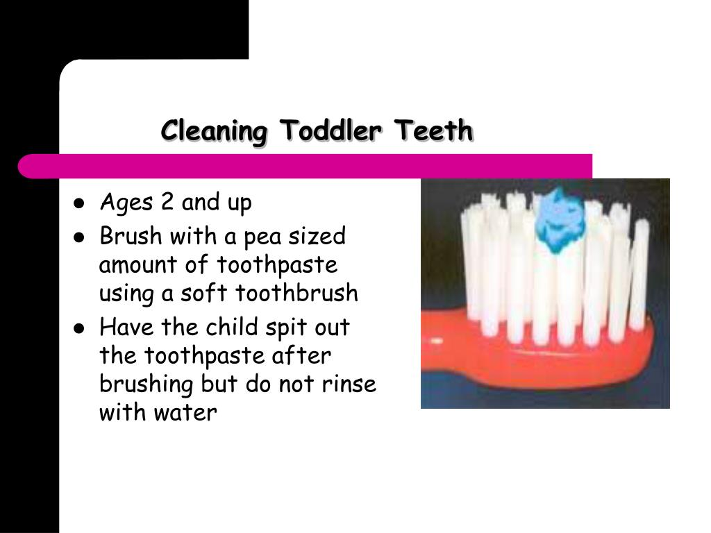 Cleaning Toddler Teeth