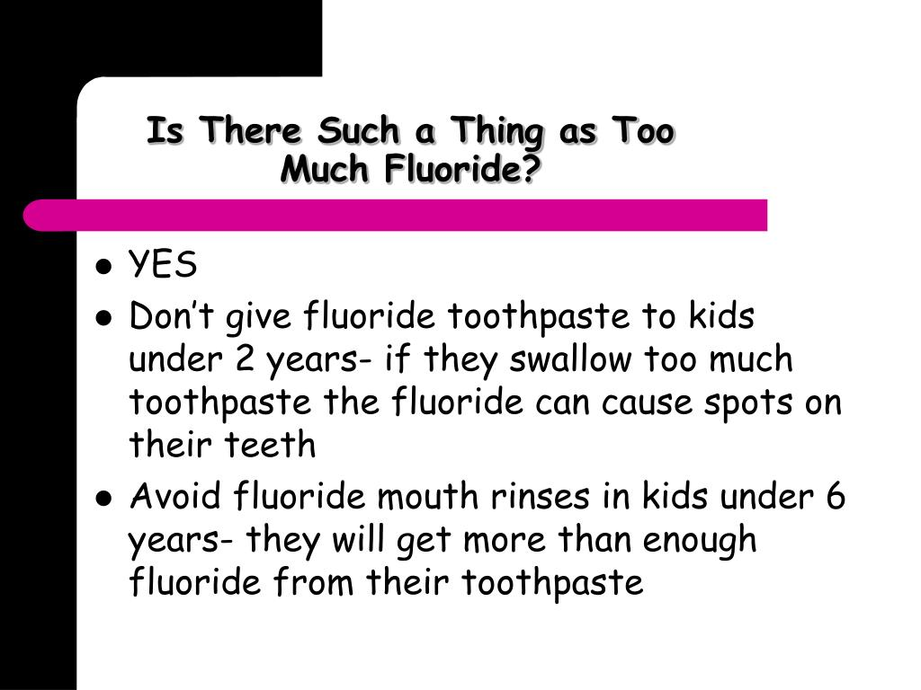 Is There Such a Thing as Too Much Fluoride?