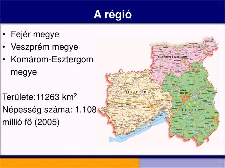 A régió