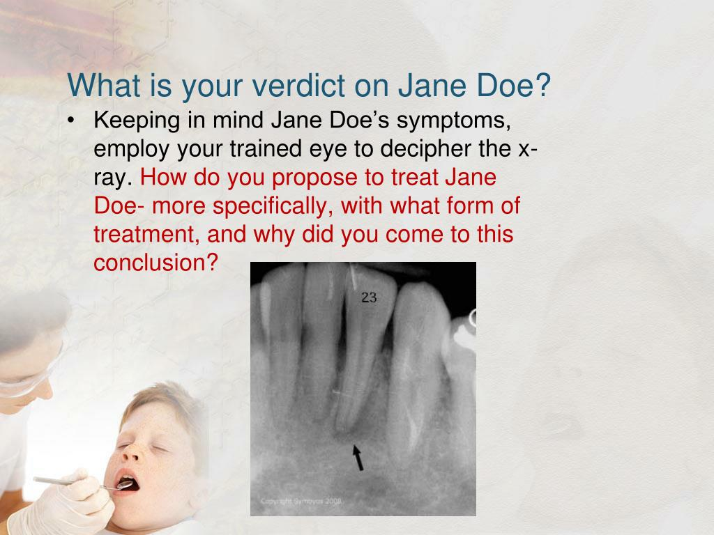 What is your verdict on Jane Doe?