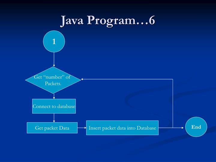 Java Program…6