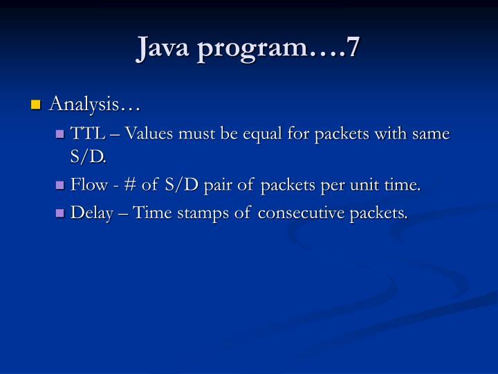 Java program….7
