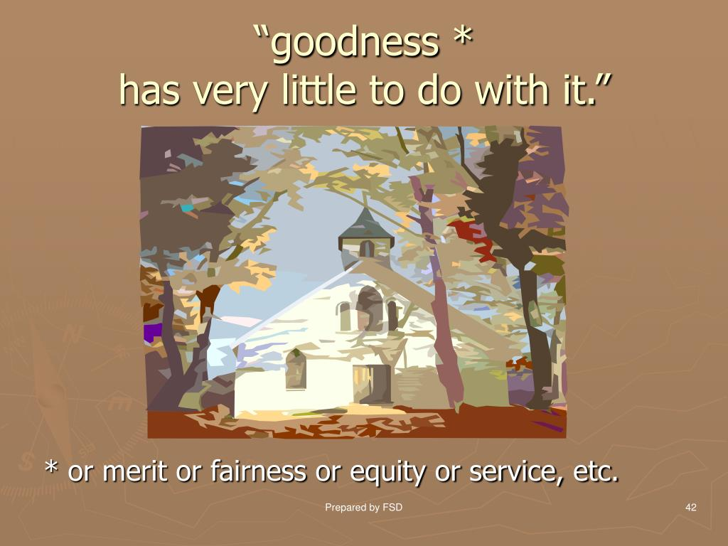 """goodness *"
