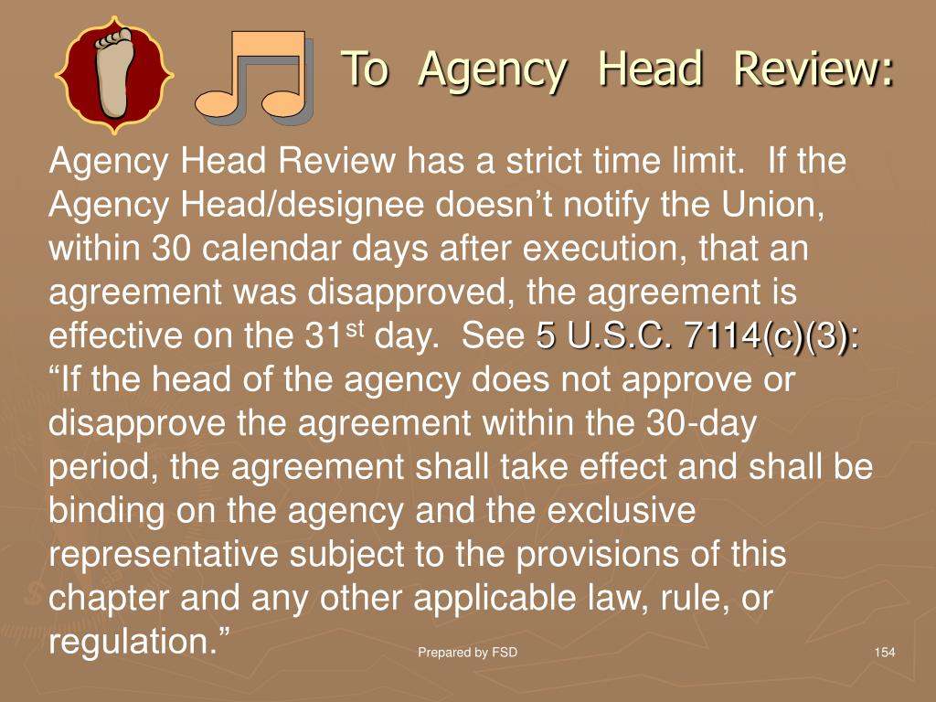 To  Agency  Head  Review:
