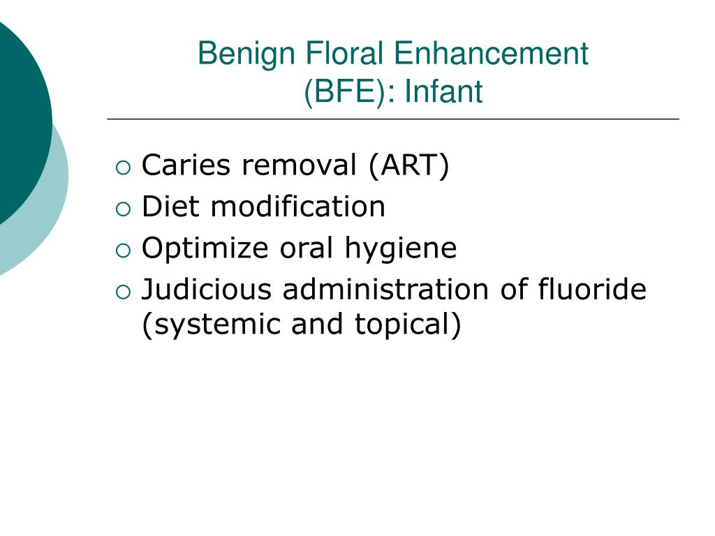 Benign Floral Enhancement