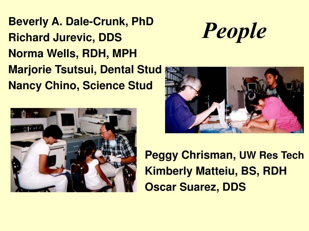 Beverly A. Dale-Crunk, PhD