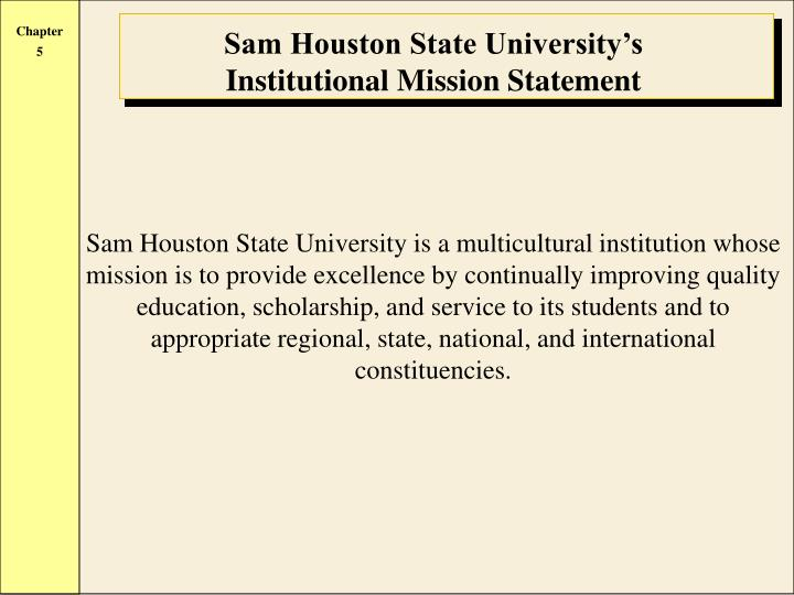 Sam Houston State University's