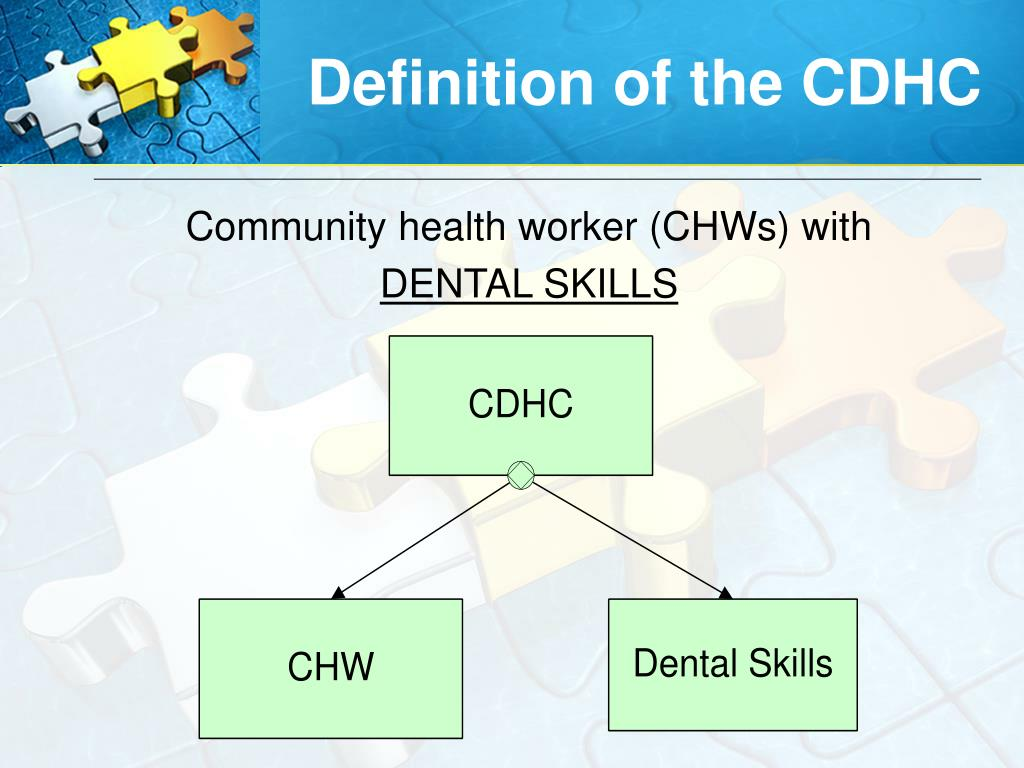 Definition of the CDHC
