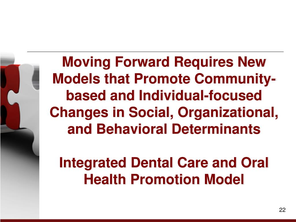 Moving Forward Requires New Models that Promote Community-based and Individual-focused Changes in Social, Organizational, and Behavioral Determinants