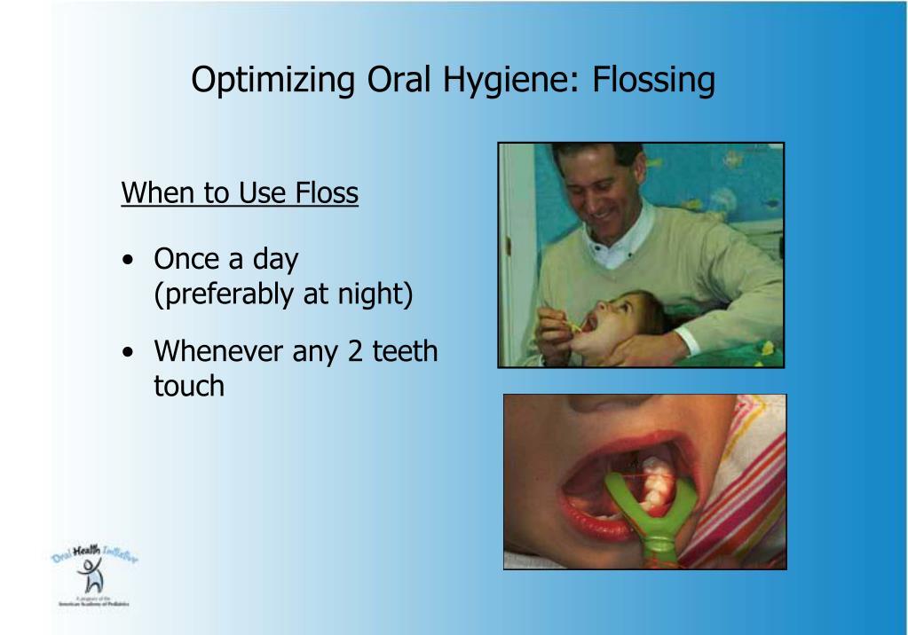 Optimizing Oral Hygiene: Flossing