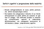 deficit cognitivi e progressione della malattia1