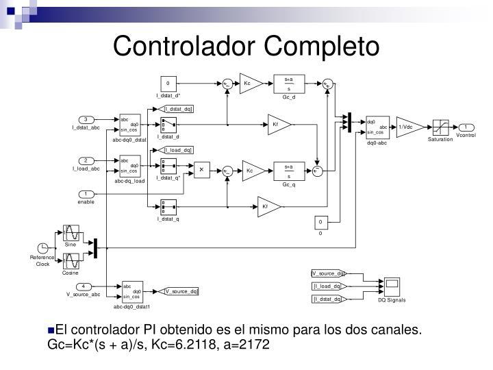 Controlador Completo