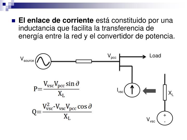 El enlace de corriente