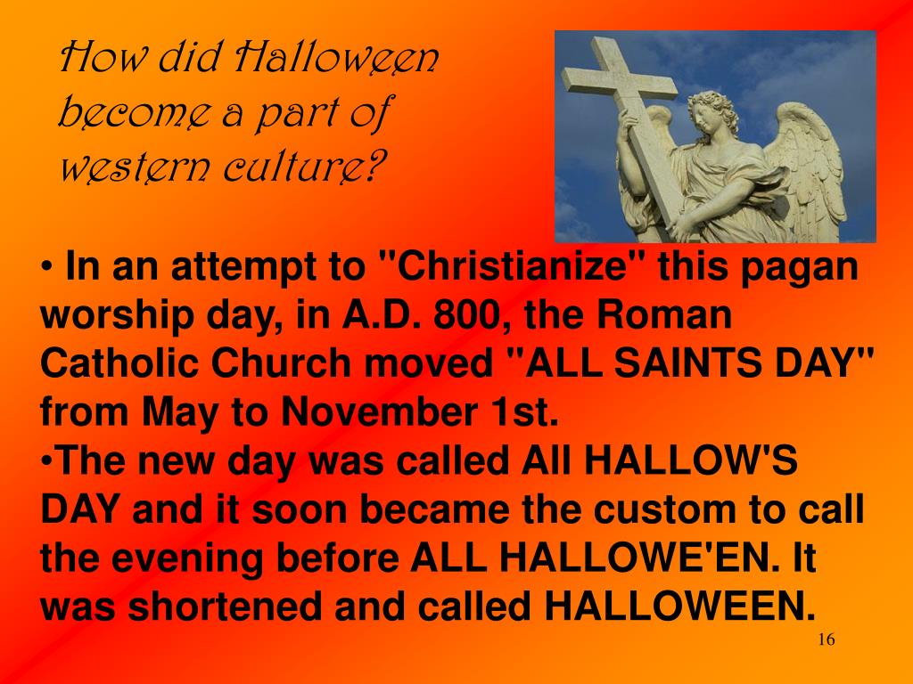How did Halloween become a part of western culture?