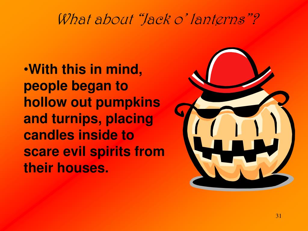 "What about ""Jack o' lanterns""?"