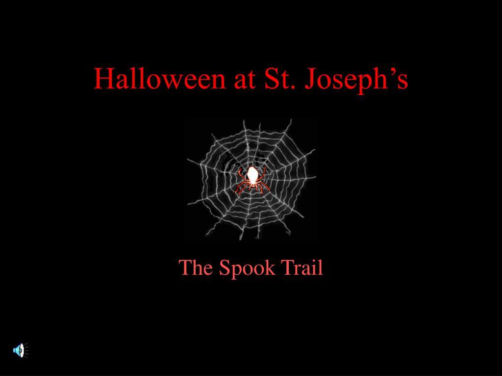 Halloween at St. Joseph's
