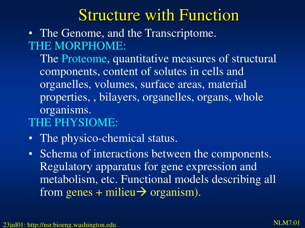 Structure with Function