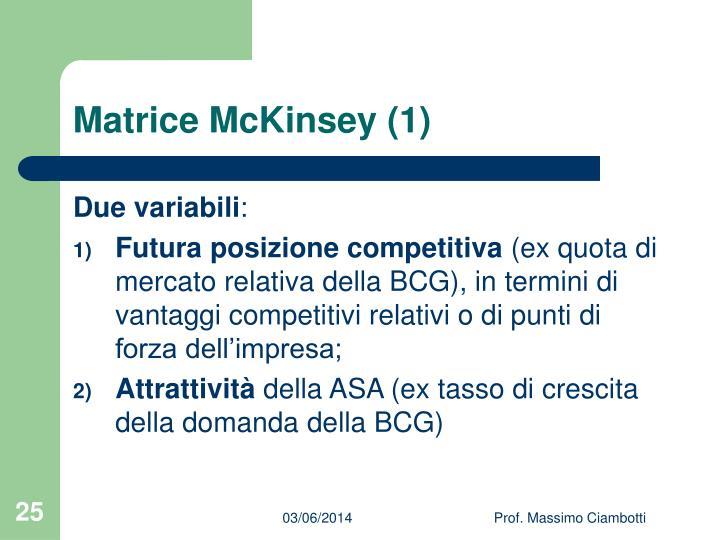 Matrice McKinsey (1)