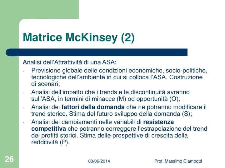 Matrice McKinsey (2)