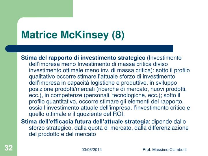Matrice McKinsey (8)