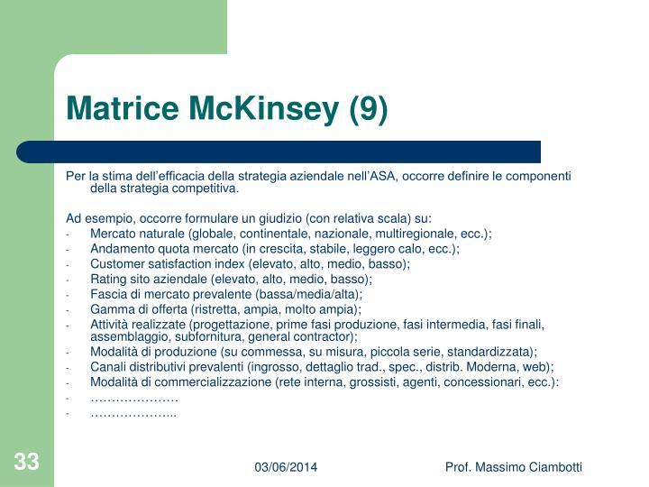 Matrice McKinsey (9)
