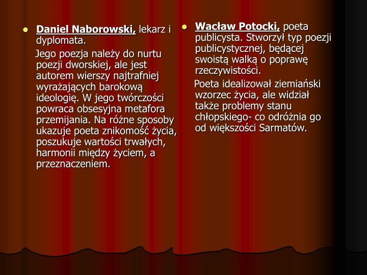 Daniel Naborowski,