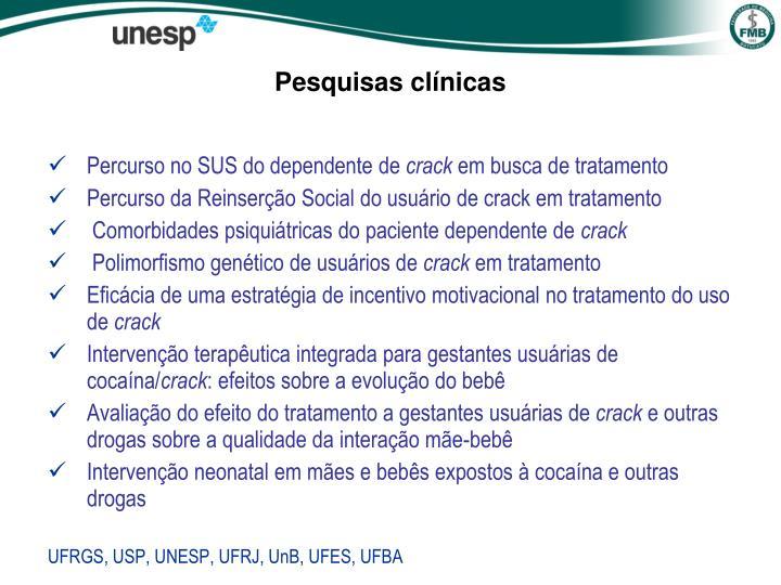 Pesquisas clínicas