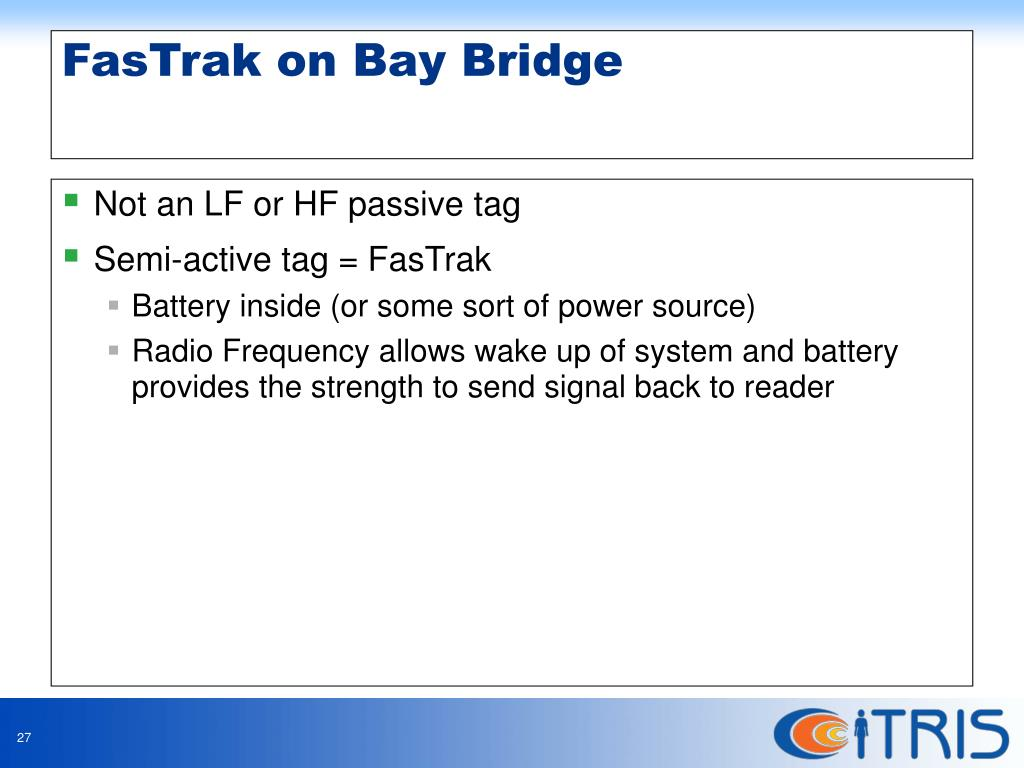 Not an LF or HF passive tag