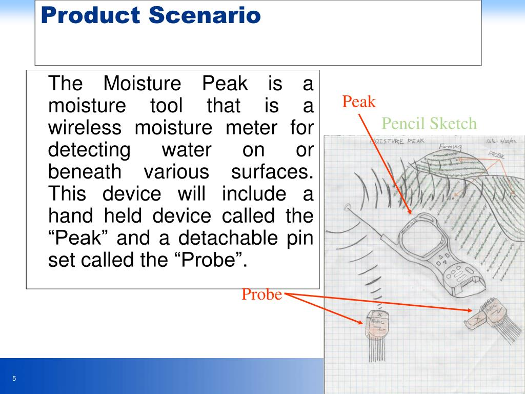 The Moisture Peak is a moisture tool that is a wireless moisture meter for detecting water on or beneath various surfaces.  This de