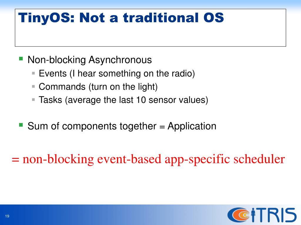 Non-blocking Asynchronous