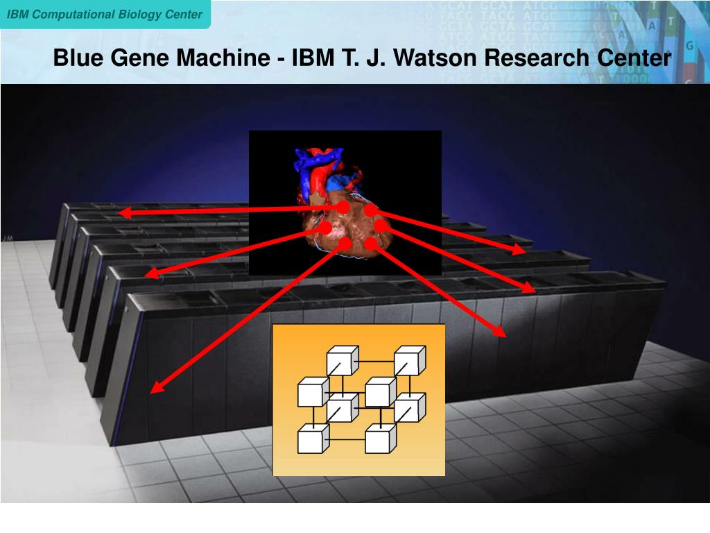 Blue Gene Machine - IBM T. J. Watson Research Center