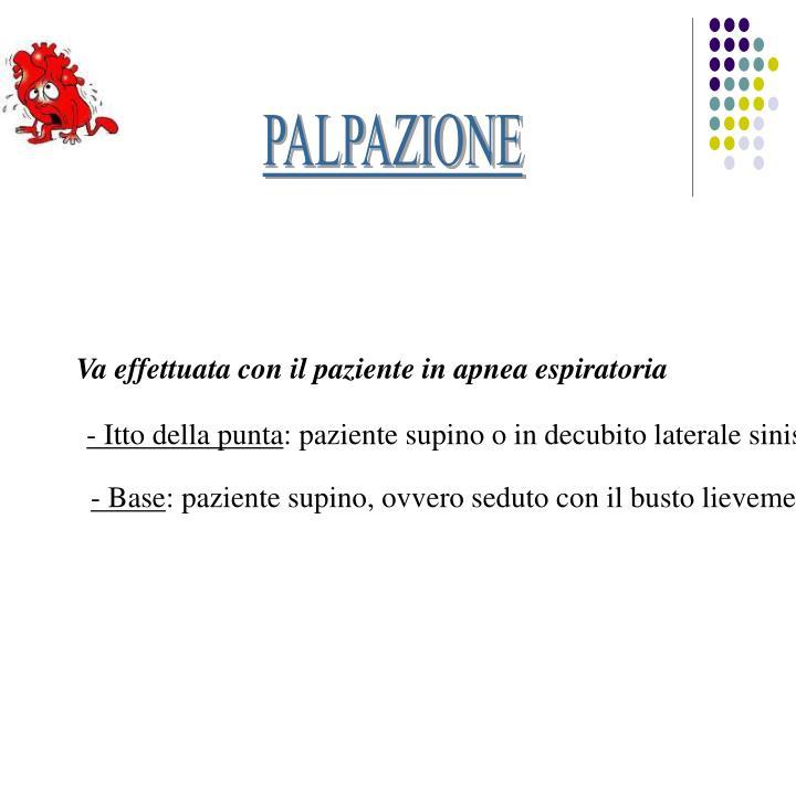 PALPAZIONE