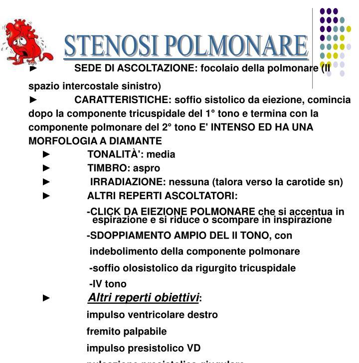STENOSI POLMONARE