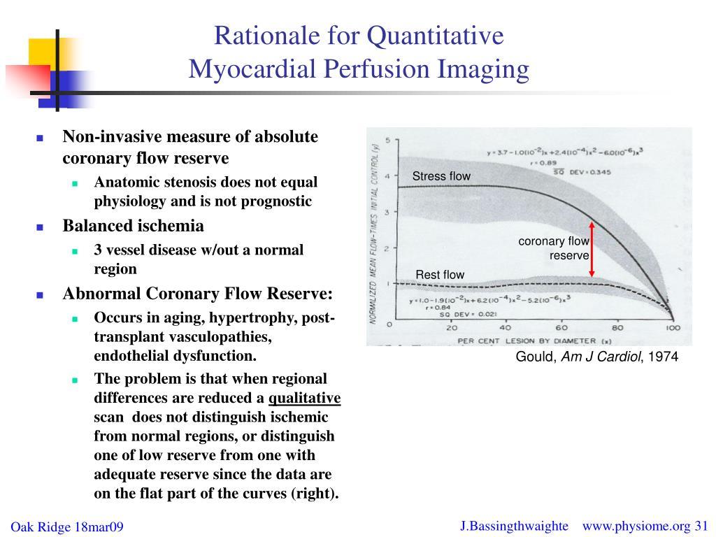 Rationale for Quantitative