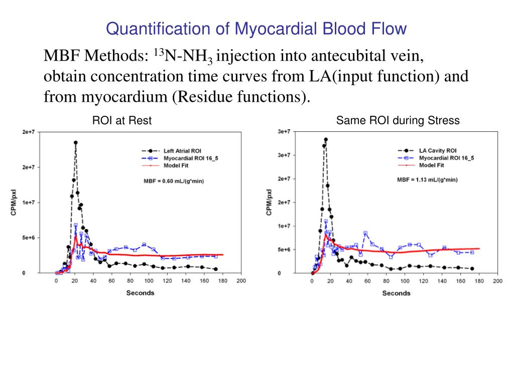 Quantification of Myocardial Blood Flow