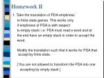 homework ii