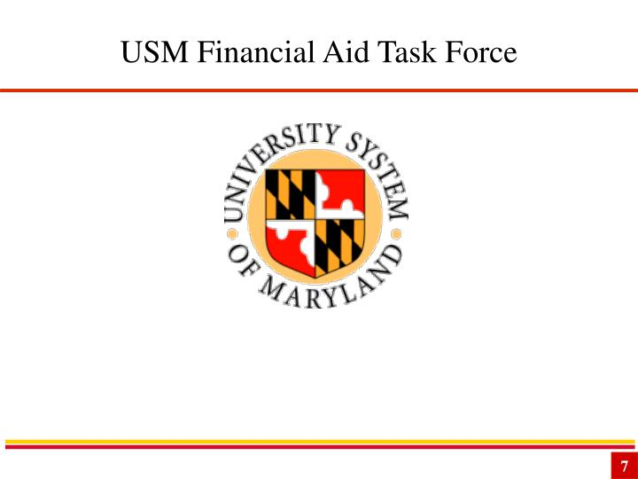 USM Financial Aid Task Force