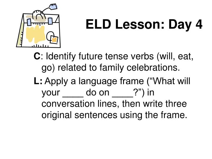 ELD Lesson: Day 4