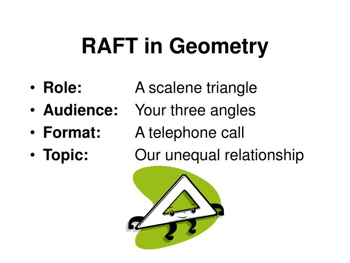 RAFT in Geometry