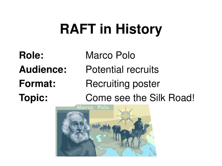 RAFT in History