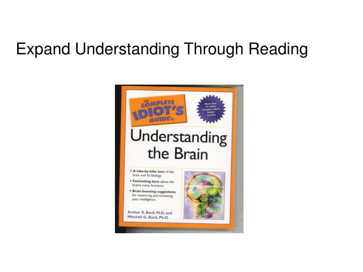 Expand Understanding Through Reading