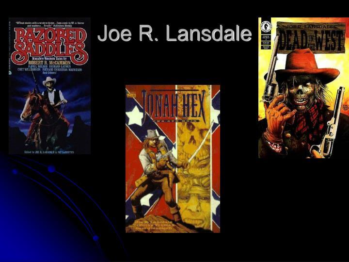 Joe R. Lansdale