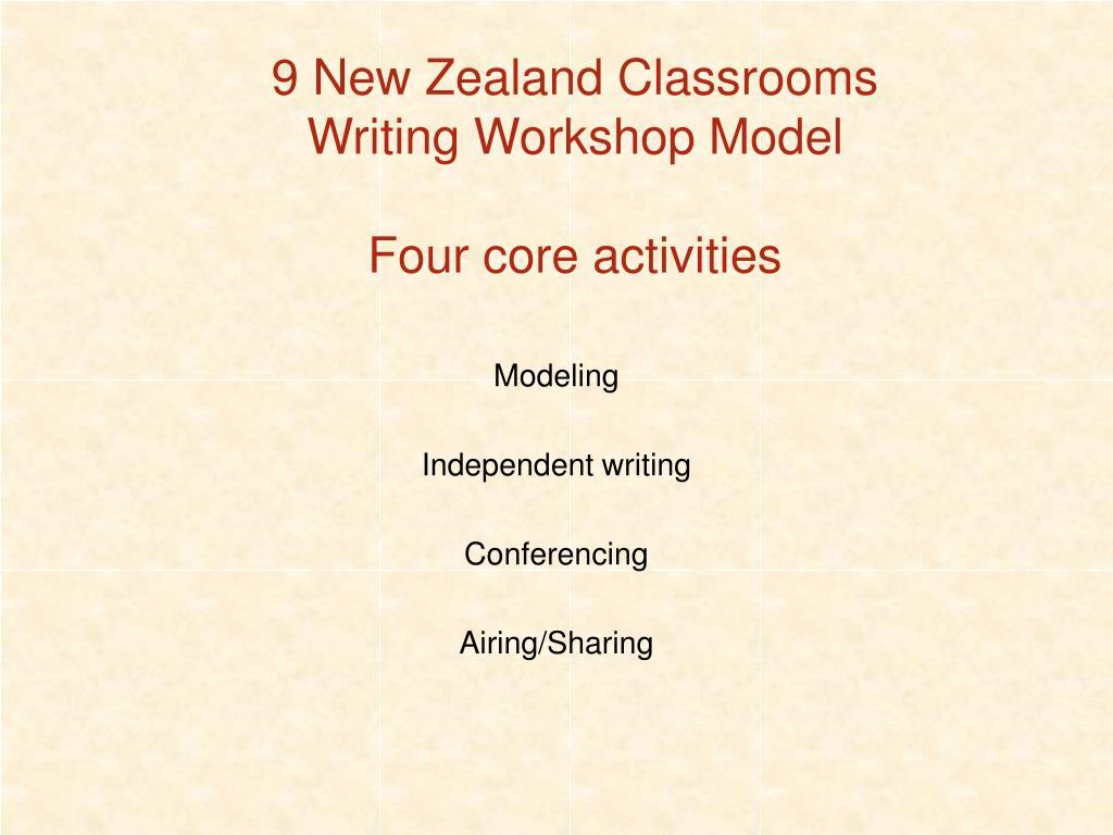 9 New Zealand Classrooms