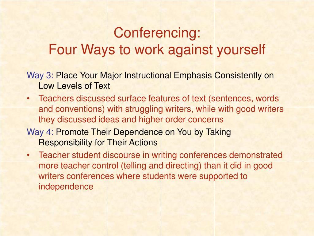 Conferencing: