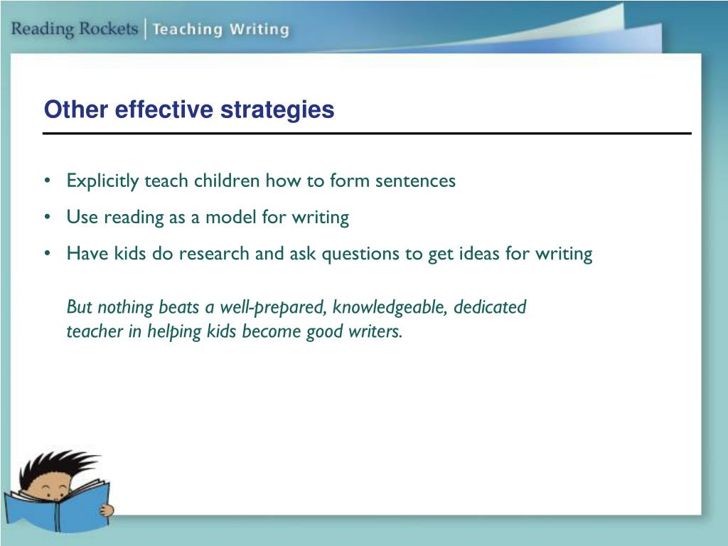 Other effective strategies