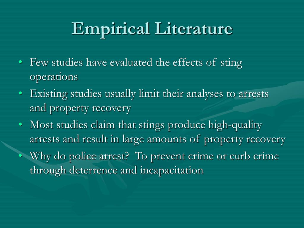 Empirical Literature